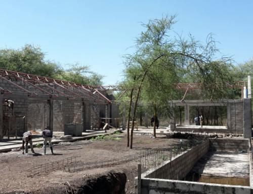 Werk in uitvoering: Villa 'House-W' (Tanzania)