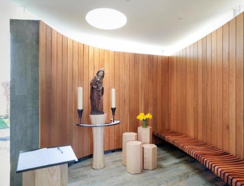 Inwijding nieuwe Mariakapel van de RK Sint Martinus in Noorden