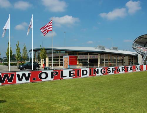 R4a ontwerpt uitbreiding sportcomplex Nieuw Terbregge voor jeugdopleiding Sparta