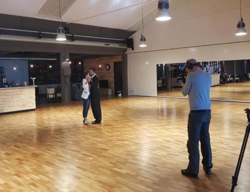 Dansschool Wesseling tv-set