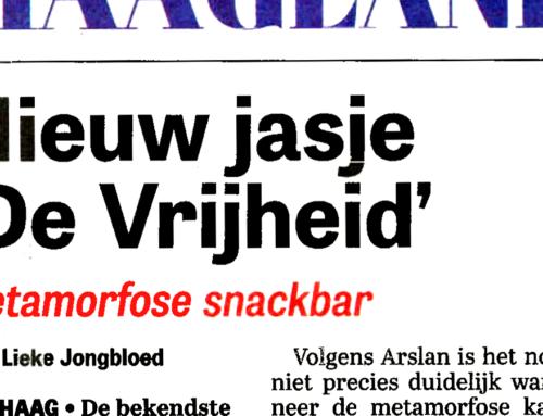 'de Vrijheid' in de Telegraaf