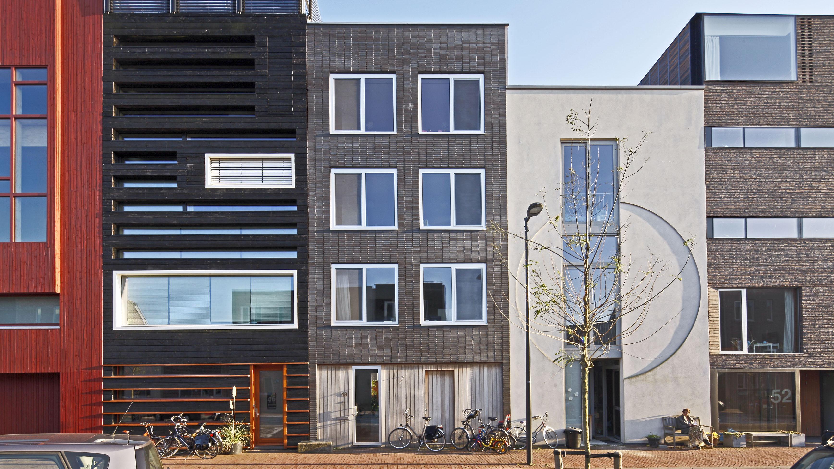 Zelfbouw woonhuis Steigereiland IJburg