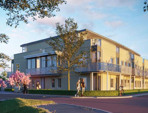 Verkoop 12 luxe appartementen Gouda gestart